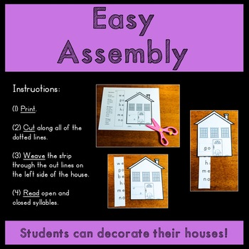 Open and Closed Syllable Houses