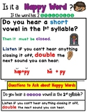Open and Closed Syllable Worksheets Orton Gillingham Spelling