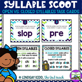 Open and Closed Syllables Activity