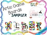 A Potion for Articulation: Game Boards Sampler