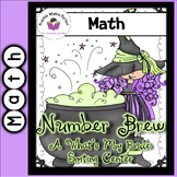 Halloween Math Number Brew