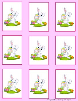 Open-ended Easter Bunny Cards