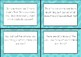Open-ended Math Problem Task Cards