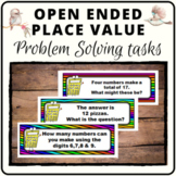 Open ended Place Value questions