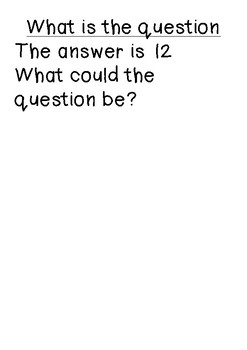 problem solving questions and answers