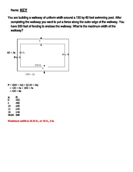 Open-ended questions geometry and number patterns with perimeter