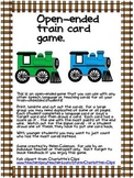 Open-ended train card game
