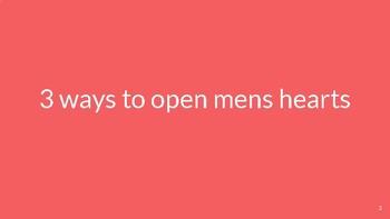 Open mens hearts