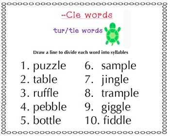 Syllable Types & Syllable Games (Part 2)
