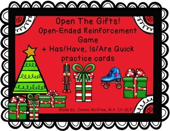 Open the Gifts! Open Ended Reinforcement Game + more