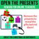 Open the Presents Reward for Online Teachers | Christmas • Birthdays | VIPKid