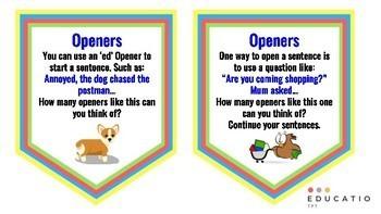 Opener Challenge Cards (VCOP)