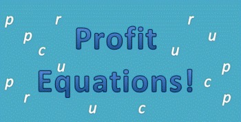 Writing Profit Equations with Variables