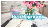 Opening Sentences (Bold Beginnings)
