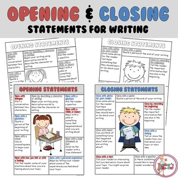 Opening and Closing Statements