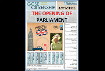 Opening of UK Parliament