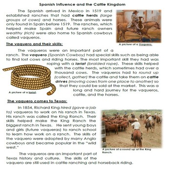 Opening the Frontier Readings and Activity Bundle