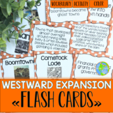 Westward Expansion Flash Cards