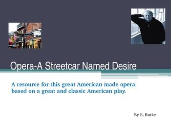 Opera-A Streetcar Named Desire