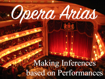 Opera Arias: Making Inferences Based on Performance