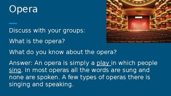 Opera Introduction Power Point