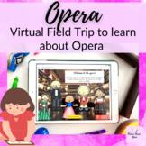 Opera Virtual Field Trip Elementary Music Lesson on Google Slides
