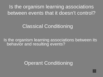 AP Psychology Operant Conditioning