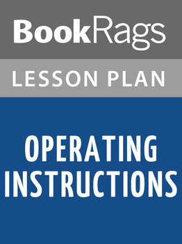 Operating Instructions Lesson Plans