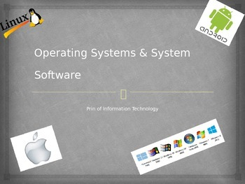 Operating Systems (OS) and System Software Presentation