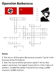 Operation Barbarossa Crossword