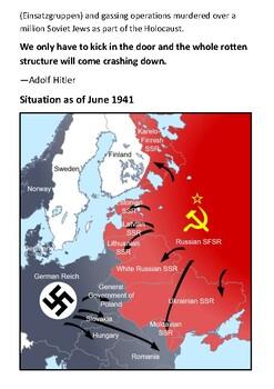 Operation Barbarossa Handout