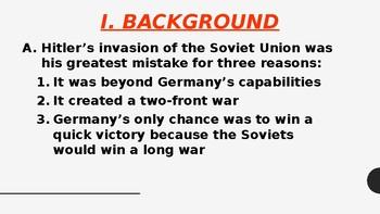Operation Barbarossa: The German Invasion of the Soviet Union