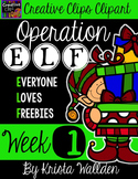 Operation E.L.F Freebie #1 {Creative Clips Digital Clipart}