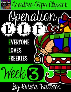 Operation E.L.F Freebie #3 {Creative Clips Digital Clipart}