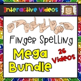 Finger Spelling Sight Words - Interactive Videos