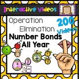 Operation Elimination Number Bonds All Year - Interactive Videos