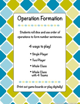 Operation Formation