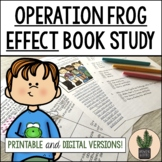 Operation Frog Effect Book Study Bundle for Distance Learning