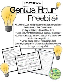 Genius Hour FREEBIE
