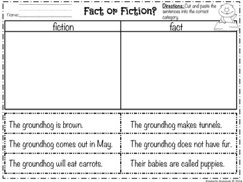 Operation Groundhog! Engaging Non-Fiction Activities for Young Learners