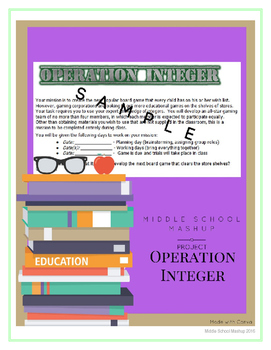 Operation Integer Project