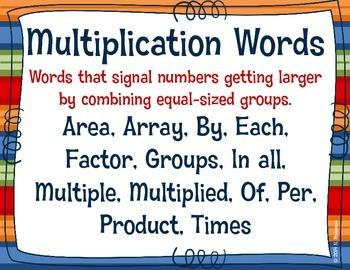 Operation Key Words