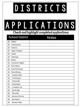 Operation Move: Free Organization Tool for Teachers Relocating to a New State!