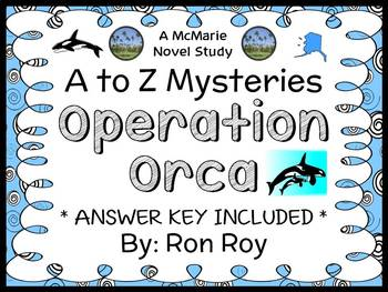 Operation Orca : A to Z Mysteries (Ron Roy) Novel Study /