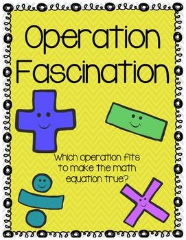 Operation Puzzles