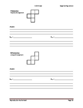 Operation Puzzles_Student Worksheets (5-Omino)
