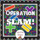 Operation Slam! A Mental Math Game for Math Centers
