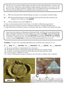 Operation Stonehenge Transcript Activity - part 2