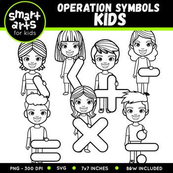 Operation Symbols Kids Clip Art
