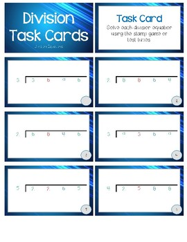 Operation Task Cards